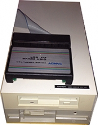Tandy Color Computer Disk Drive System Box Art