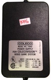 ColecoVision power supply Box Art