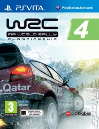 WRC 4 Box Art