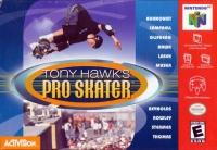Tony Hawk's Pro Skater Box Art