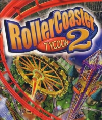 RollerCoaster Tycoon 2 Box Art
