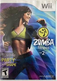 Zumba Fitness 2 Box Art