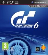 Gran Turismo 6 Box Art