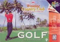 Waialae Country Club: True Golf Classics Box Art