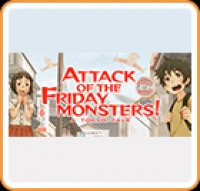 Attack of the Friday Monsters! A Tokyo Tale Box Art