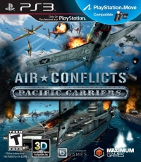 Air Conflicts: Pacific Carriers Box Art