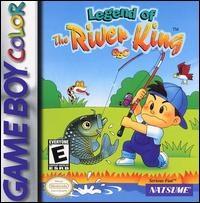 Legend of the River King GBC Box Art