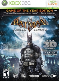 Batman: Arkham Asylum - Game of the Year Edition Box Art