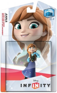 Anna - Disney Infinity [NA] Box Art
