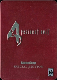 Resident Evil 4 - GameStop Special Edition Box Art