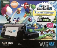 Wii U - Mario & Luigi Deluxe Set | 32 GB Box Art