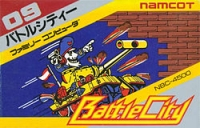 Battle City Box Art