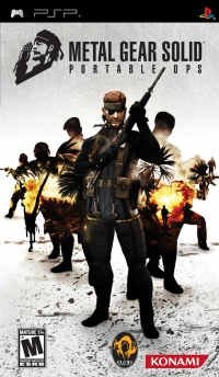 Metal Gear Solid: Portable Ops Box Art