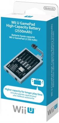 Wii U GamePad High-Capacity Battery [NA] Box Art