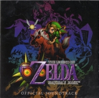 2013 Club Nintendo Platinum Member Reward - The Legend of Zelda: Majora's Mask Original Soundtrack Box Art