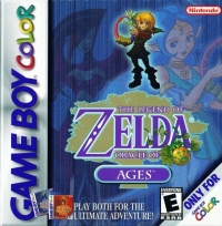 Legend of Zelda, The: Oracle of Ages Box Art