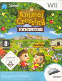 Animal Crossing: Let's Go to the City (Wii Speak) Box Art