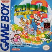 Super Mario Land 2: 6 Golden Coins Box Art