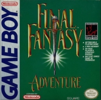 Final Fantasy Adventure (Squaresoft) Box Art