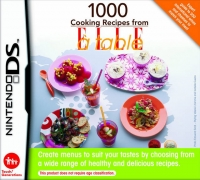 1000 Cooking Recipes from Elle a Table Box Art