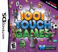 1001 Touch Games Box Art