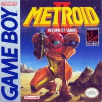Metroid II: Return of Samus Box Art