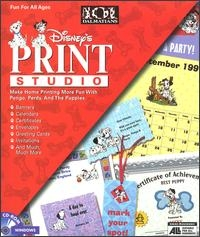 101 Dalmatians Print Studio Box Art