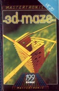 3D Maze Box Art