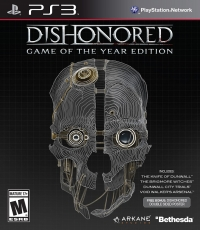 Dishonored - Game of the Year Edition Box Art