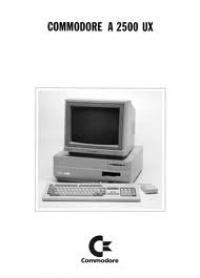 Commodore Amiga 2500UX Box Art