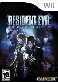 Resident Evil: The Darkside Chronicles Box Art