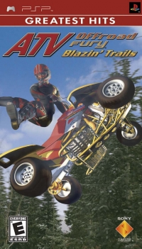 ATV Offroad Fury: Blazin' Trails - Greatest Hits Box Art