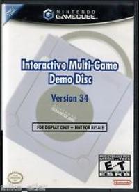 Interactive Multi-Game Demo Disc Version 34 Box Art