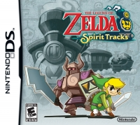Legend of Zelda, The: Spirit Tracks Box Art