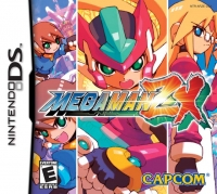 Mega Man ZX Box Art