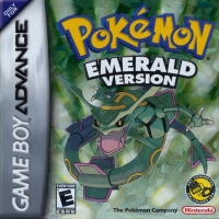 Pokémon: Emerald Version Box Art