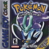 Pokémon: Crystal Version Box Art