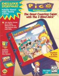 Great Counting Caper with The 3 Blind Mice, The Box Art