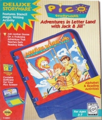 Adventures in Letterland With Jack and Jill Box Art