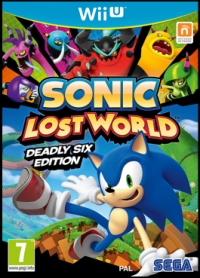 Sonic: Lost World - Deadly Six Edition Box Art