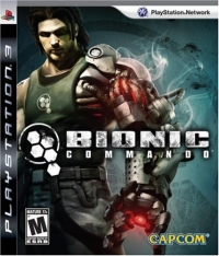 Bionic Commando Box Art