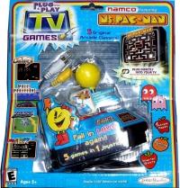 Namco Ms. Pac-Man 5 in 1 TV Video Game Plug & Play Box Art