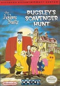Addams Family, The: Pugsley's Scavenger Hunt Box Art