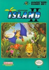 Adventure Island II Box Art
