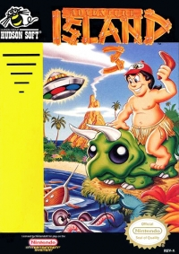 Adventure Island 3 Box Art