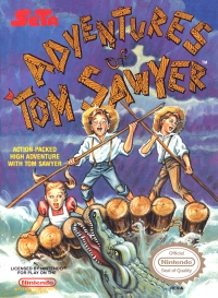 Adventures of Tom Sawyer, The Box Art