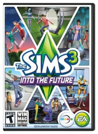 Sims 3, The: Into the Future Box Art
