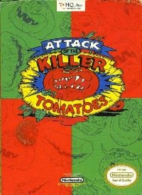 Attack of the Killer Tomatoes Box Art