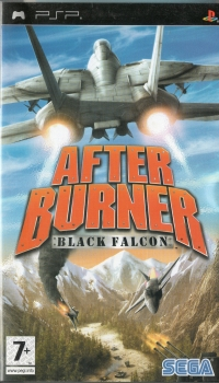 After Burner: Black Falcon Box Art