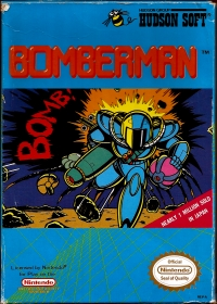 Bomberman Box Art